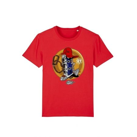 Tshirt Enfant Cassette x TRN Rouge