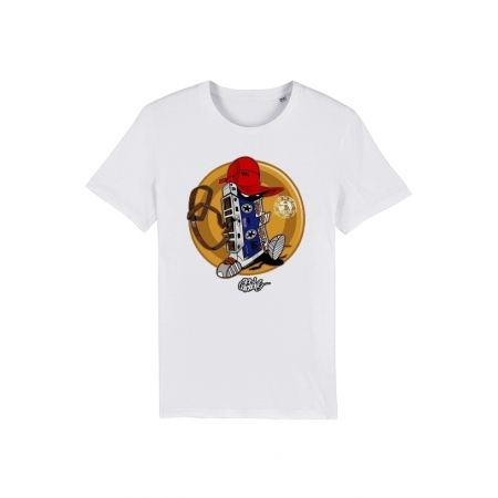 Tshirt Enfant Cassette x TRN Blanc