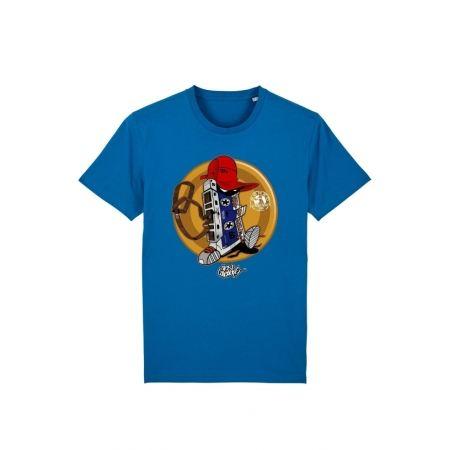 Tshirt Enfant Cassette  x TRN Bleu