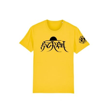 Tshirt Scred x TRN Jaune