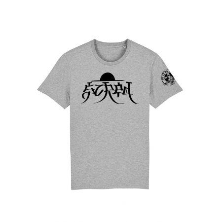 Tshirt Scred x TRN gris