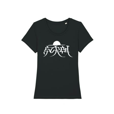 Tshirt Femme Scred x TRN Noir