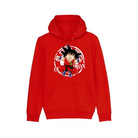 Sweat enfant Goku Rouge