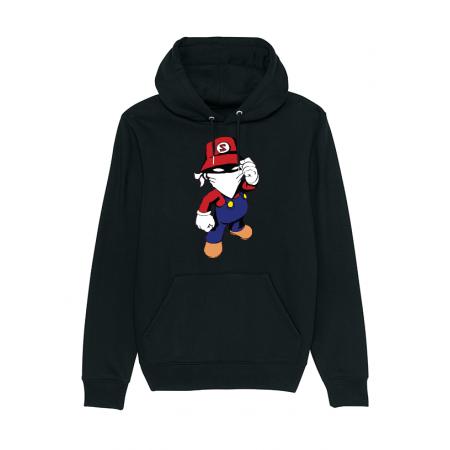 Sweat enfant Mario Noir