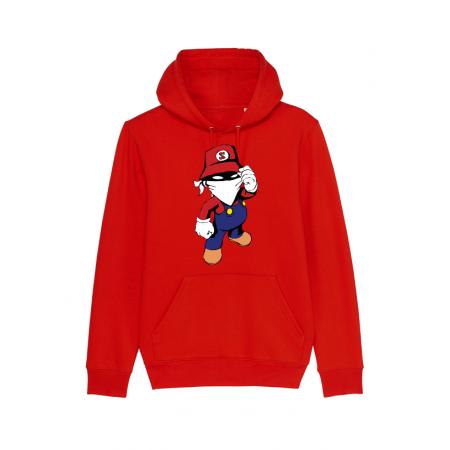 Sweat enfant Mario Rouge