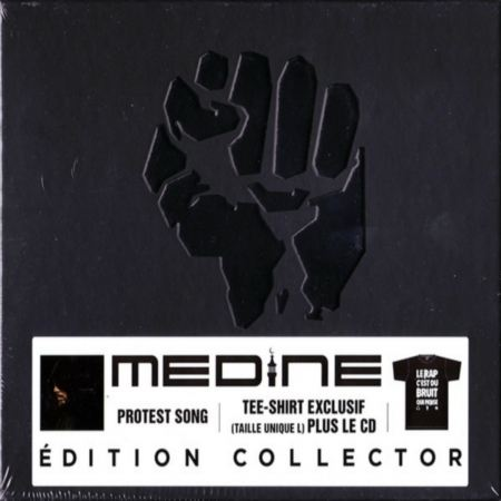 "Album Cd ""Medine - Protest Song (Coffret Cd + Tee-shirt)"""