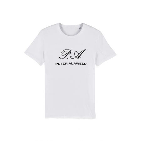 Tshirt Amadeus - Peter Alaweed Blanc