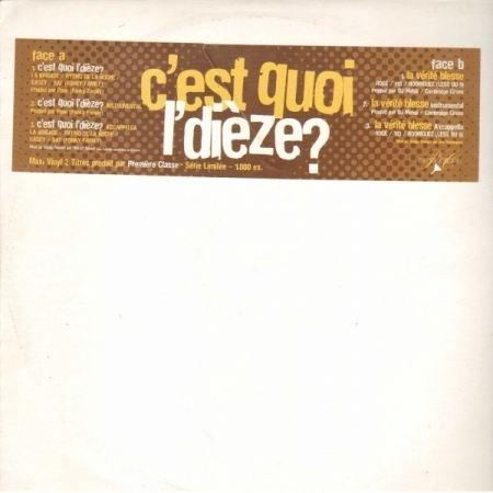 """Maxi Vinyle """"Première Classe - C'est quoi l'dièze? / La vérité blesse"""""""