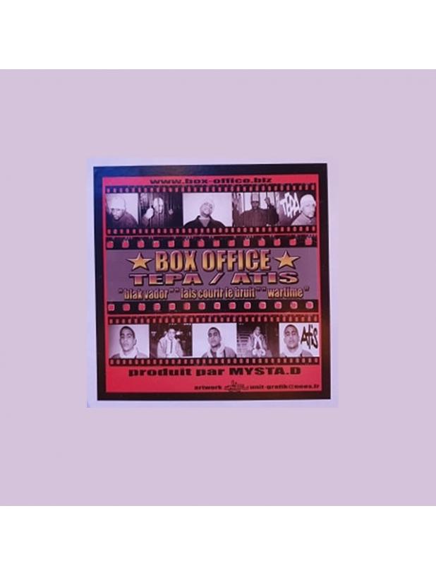 """Maxi Vinyle """"Box office - Tepa / Atis - Black vador / Fais courir le bruit / Wartime"""""""