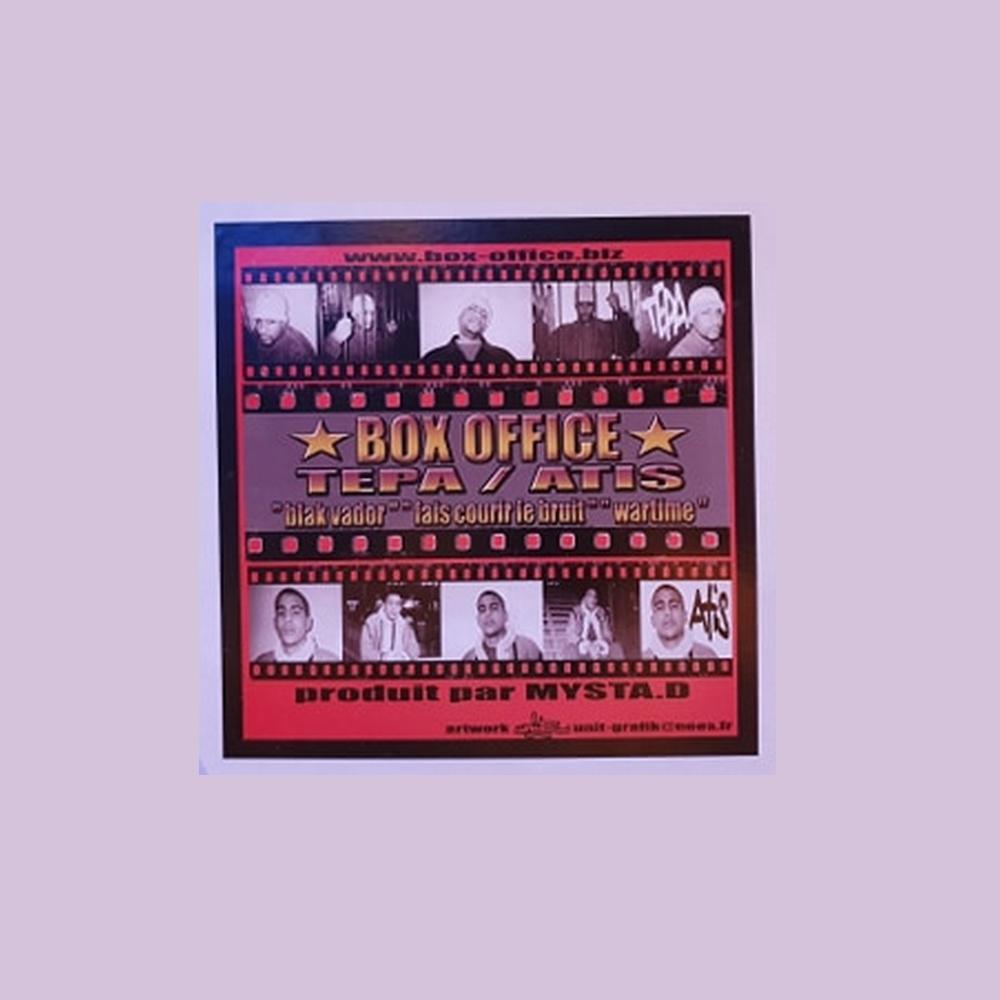 "Maxi Vinyle ""Box office - Tepa / Atis - Black vador / Fais courir le bruit / Wartime"" de mysta.d sur Scredboutique.com"