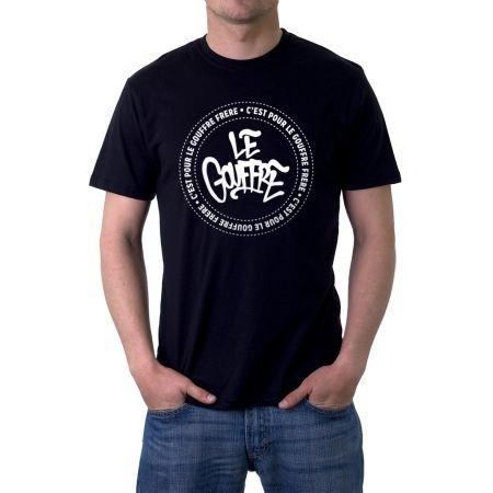 """Tee-Shirt Le gouffre """"Classic """" noir"""