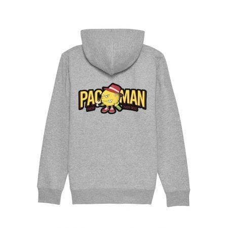 Sweat Zippé Capuche  Paco - Pacman Gris