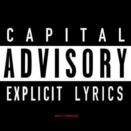 "EP Cd ""L'1consolable & Nada - Capital Advisory"""