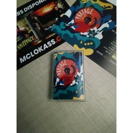 """Album K7 """"Mc Lokass -Partage vol.1 hip hop under"""""""