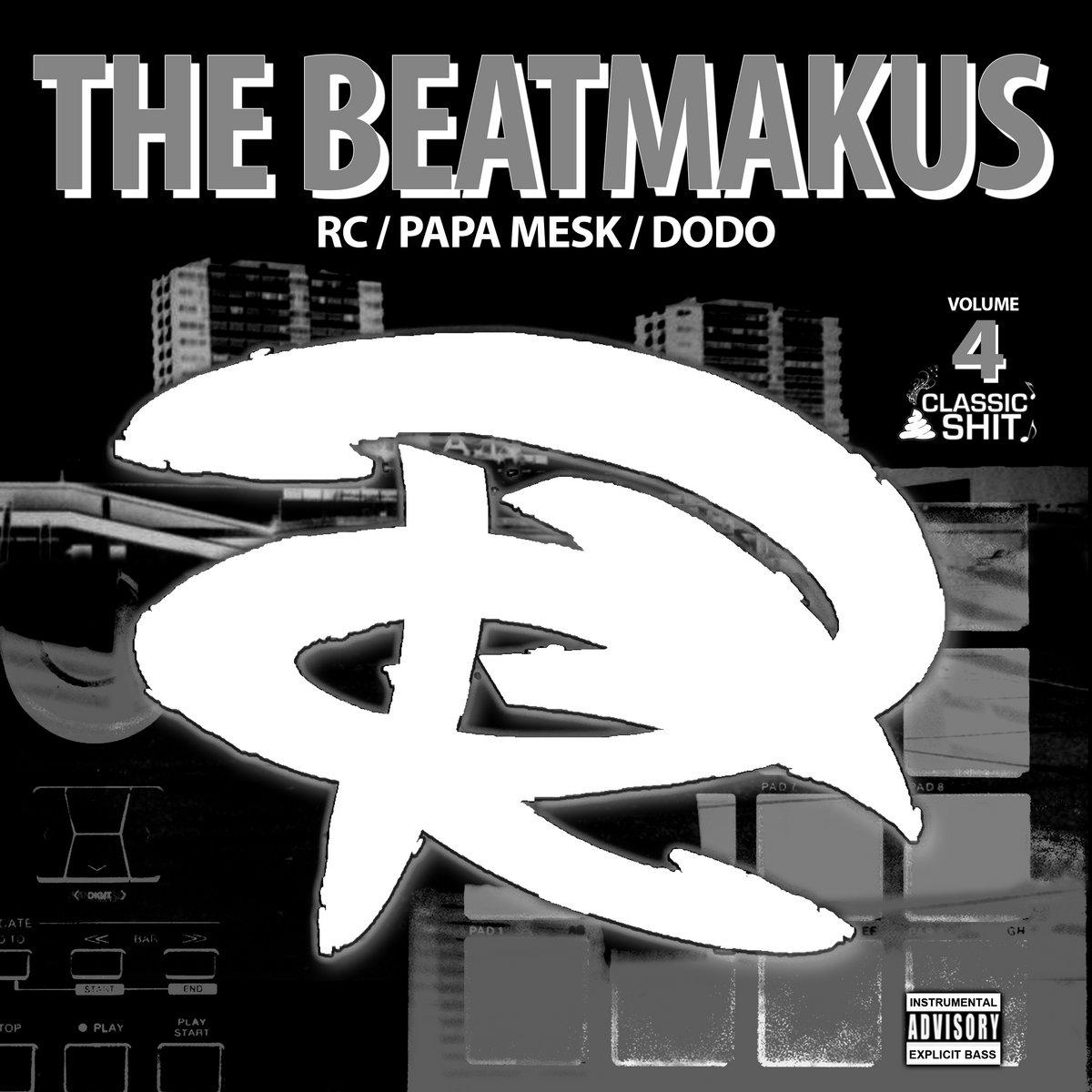 """Album Cd """"The RC Beatmakus volumes 4"""" de the rc beatmakus sur Scredboutique.com"""