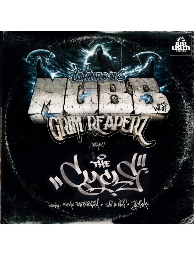 """EP Vinyle """"Grim Reaperz & Infamous Mobb West - The Cycle"""""""