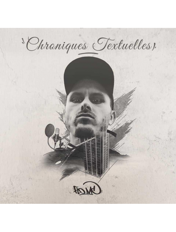 "Album Cd ""Flo Mc- Chroniques Textuellles"""