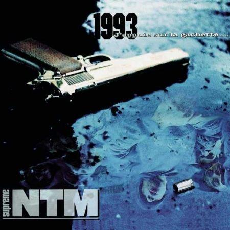 """Album vinyle """"NTM - j'appuie sur la gachette"""""""