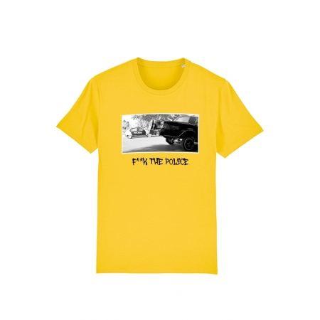 Tshirt Versil F**k The Police Blanc