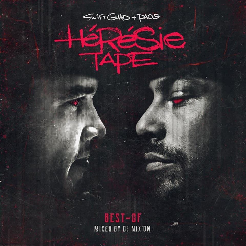 """Album Cd """"Swift Guad & Paco - Hérésie Tape"""" de swift guad sur Scredboutique.com"""