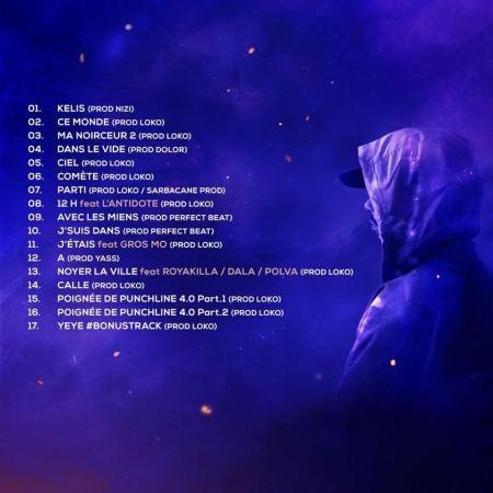 """Album cd """"Lacraps - Comète"""""""