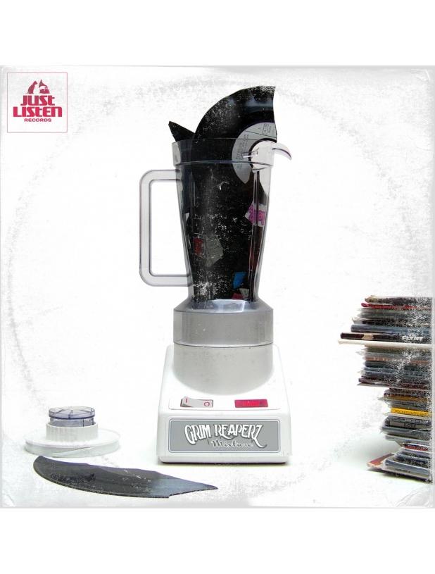 "EP Vinyle ""Grim Reaperz - Mixture"""