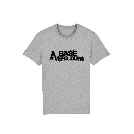 T-Shirt Paco - A base de Vers Durs Gris