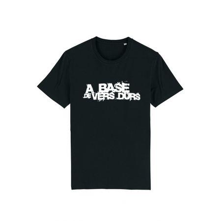 T-Shirt Paco - A base de Vers Durs Noir