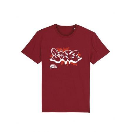 T Shirt S One Bordeaux