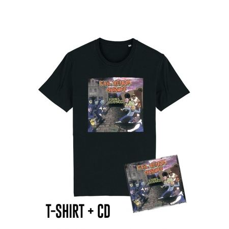 Pack Cd + Tshirt Formez les rangs Noir