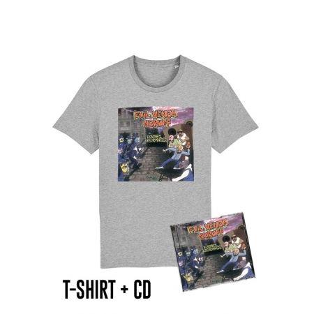 Pack Cd + Tshirt Formez les rangs Gris