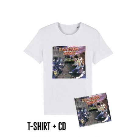 Pack Cd + Tshirt Formez les rangs Blanc