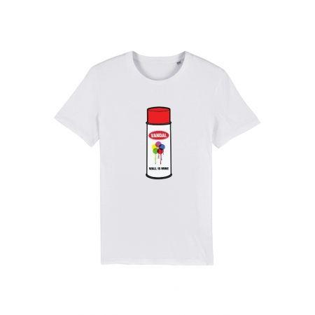 Tshirt Vandal Blanc