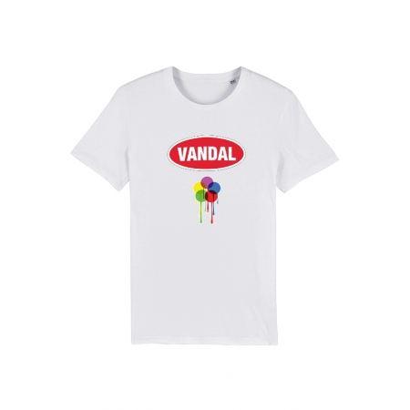 Tshirt Vandal 2 Blanc