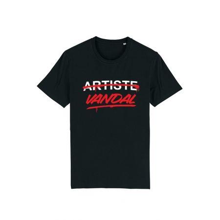 Tshirt Artiste Vandal noir