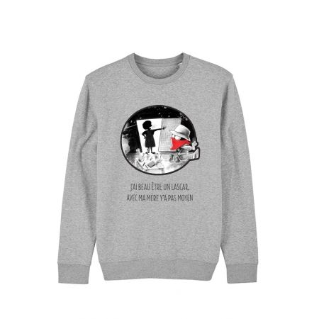 Sweat Collector Expression Disckrete gris