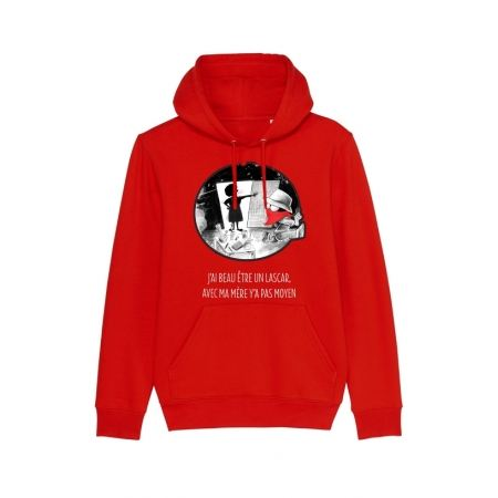 Sweat Capuche Collector Expression Disckrete Rouge