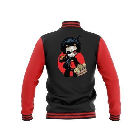 Teddy Bandit Prod Noir & Rouge