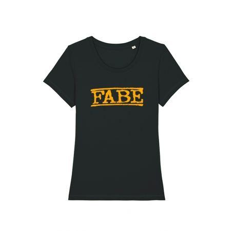 T shirt femme Fabe noir
