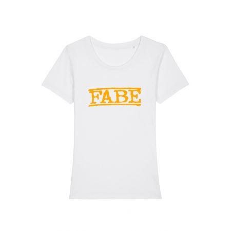 T shirt femme Fabe blanc
