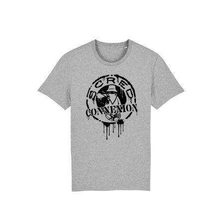 T Shirt Classico Splash Gris