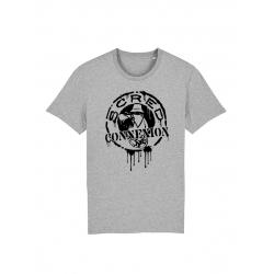T Shirt Classico Splash Gris de scred connexion sur Scredboutique.com