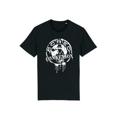 T Shirt Classico Splash Noir