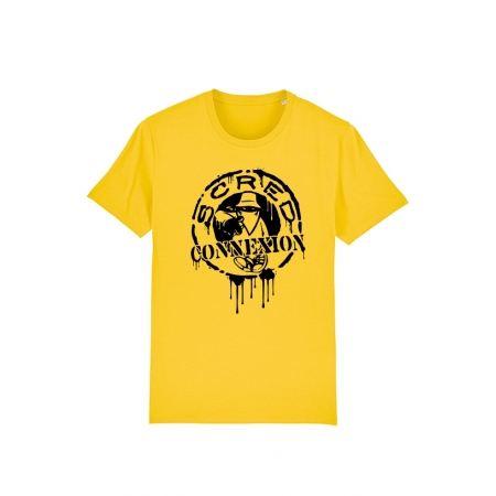 T Shirt Classico Splash Jaune