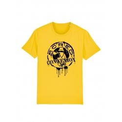T Shirt Classico Splash Jaune de scred connexion sur Scredboutique.com