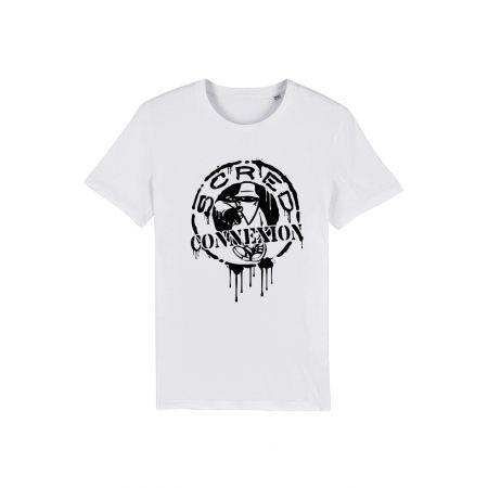 T Shirt Classico Splash Blanc