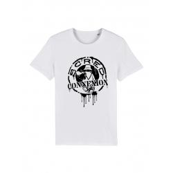 T Shirt Classico Splash Blanc de scred connexion sur Scredboutique.com