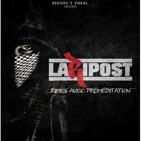 Album Cd la riposte - rimes avec préméditations