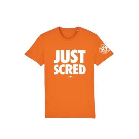 Tshirt Scred Orange Just Scred