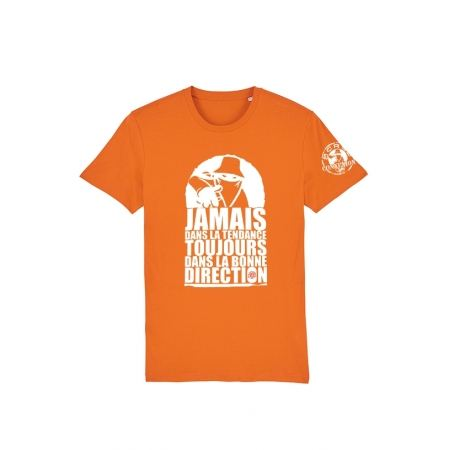 Tshirt Scred Orange Jamais